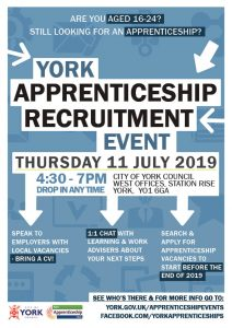 York Apprenticeship Recruitment