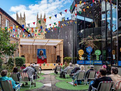 York Theatre Royal - Pop Up Patio © Karen Boyes